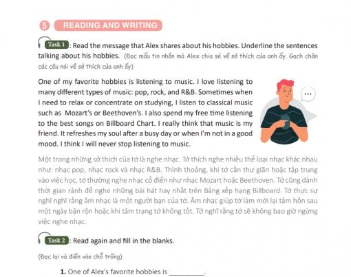 Luyện đọc và viết theo từng chủ đề