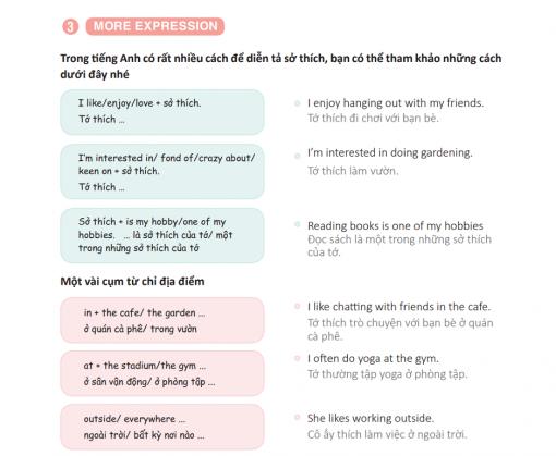 Mở rộng vốn từ và cách diễn đạt trong giao tiếp tiếng Anh